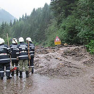 10 Muren: B 95 im Bezirk Murau gesperrt