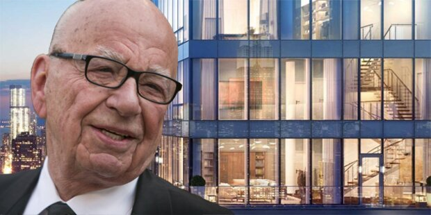 Murdoch: Junggesellen- Bude für 57 Mio Dollar