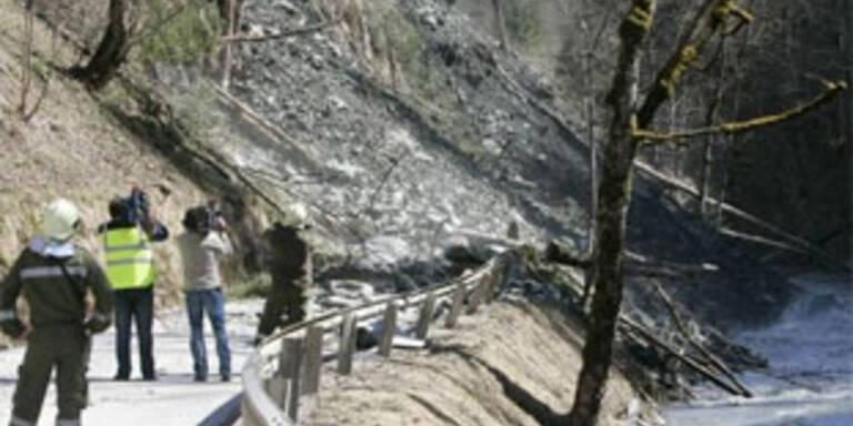 Lage nach Murenabgang vorerst entspannt
