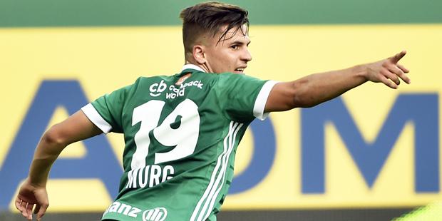 Anzeigen vor Bundesligaspiel Rapid-LASK