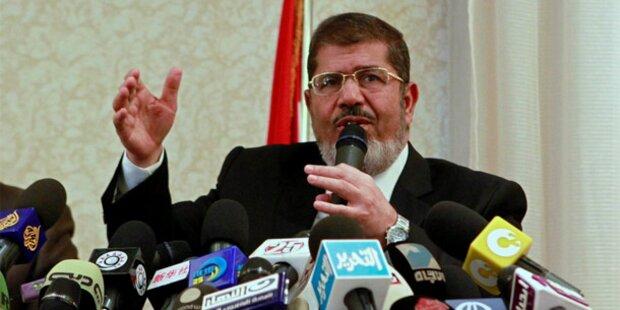 Mursi: Akzeptiere Judentum als Religion