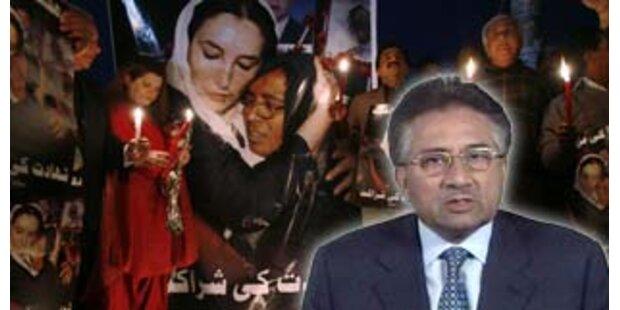 Musharraf plädiert für Bhuttos Exhumierung