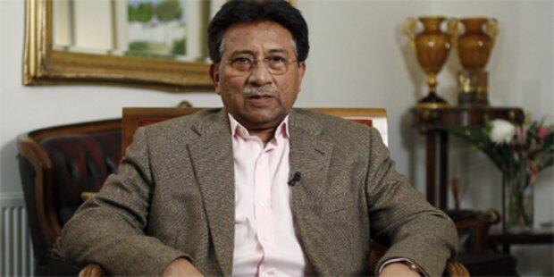 Pakistans Ex-Präsident Musharraf verhaftet