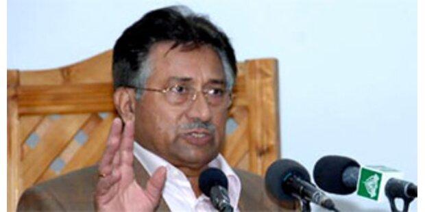 Musharraf ernennt Übergangs-Premier