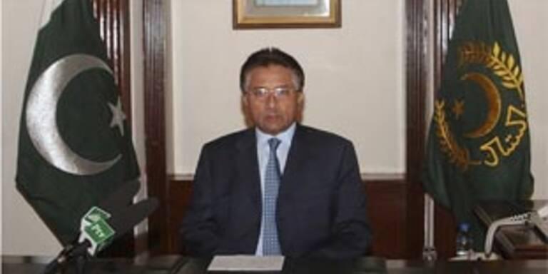 Pakistans Präsident Musharraf