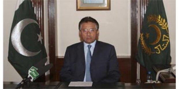 Pakistan spekuliert über Musharraf-Rücktritt