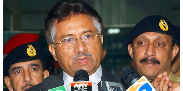 Musharraf darf zur Wiederwahl antreten