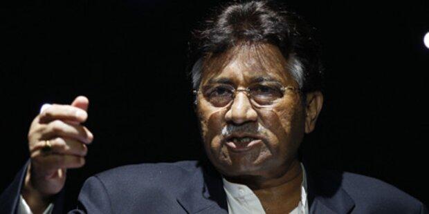 Haftbefehl gegen Musharraf wegen Bhutto-Mord
