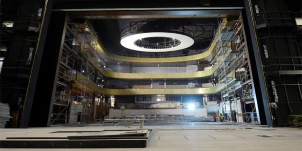Brandstiftung im Linzer Musiktheater
