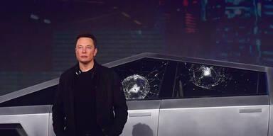 Glas-Panne bei Tesla-Präsentation