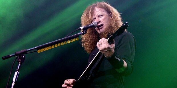 Krebs-Drama um Megadeth-Frontmann