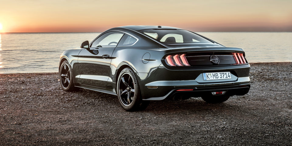 ford mustang bullit 2018 ab sofort in sterreich preis. Black Bedroom Furniture Sets. Home Design Ideas