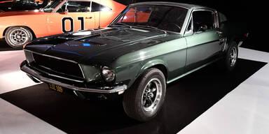 Mustang Bullit um 3,3 Mio. Euro versteigert