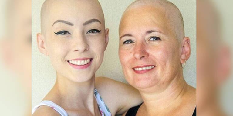 Mutter und Tochter erkrankten gleichzeitig an Krebs