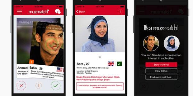 Jetzt kommt erste Dating-App für Muslime