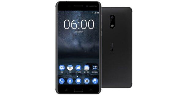 Nokia 6 startet in ÖSterreich