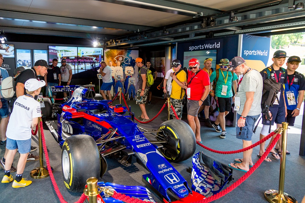 F1 Red Bull Ring - ADV - myWorld - Scuderia Toro Rosso