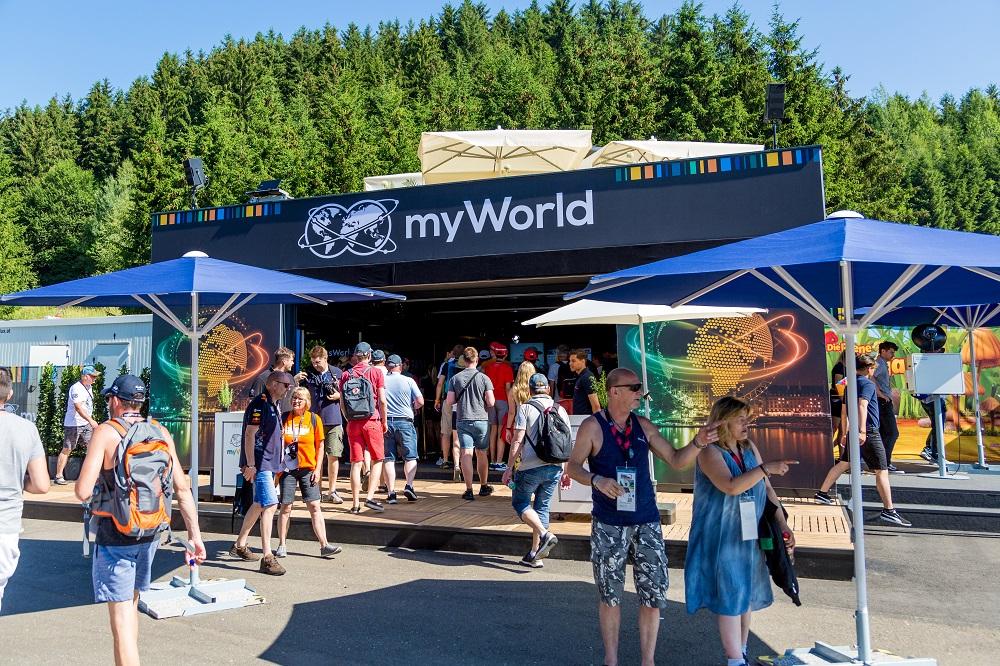 F1 Red Bull Ring - ADV - myWorld - Spielberg myWorld Promozone