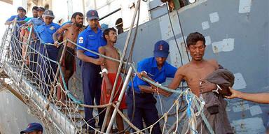 Myanmar Bootsflüchtlinge