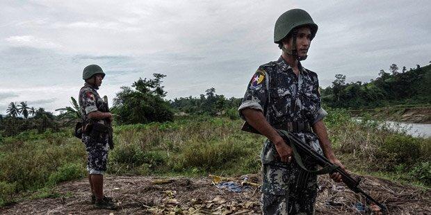 Myanmar: 32 Tote bei Angriff von Rohingya-Rebellen