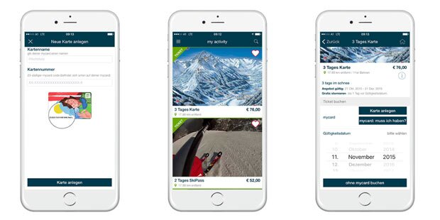 Geniale App für Ski-Ticket-Kauf