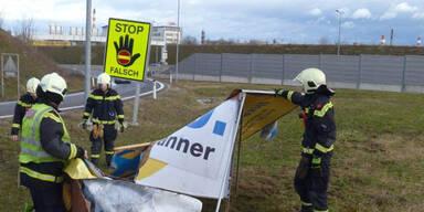 100 Feuerwehreinsätze in Niederösterreich