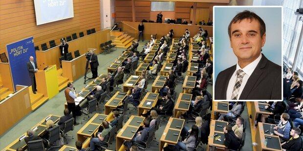 Eklat im Landtag: