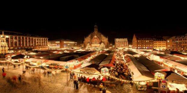Zum Christkindlmarkt nach Nürnberg