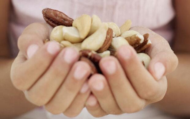 Eine Handvoll Nüsse täglich
