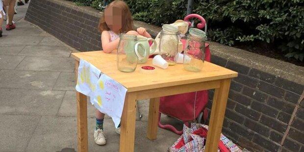5-Jährige bekam Verwaltungsstrafe, weil sie Limonade verkaufte