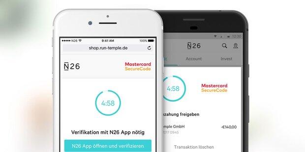N26 bringt Euro-Konten in weitere Länder