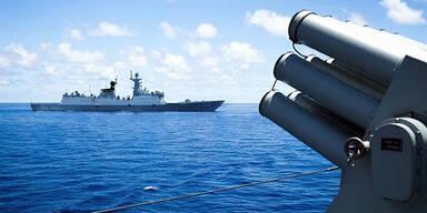 Kriegsschiff Südchinesisches Meer