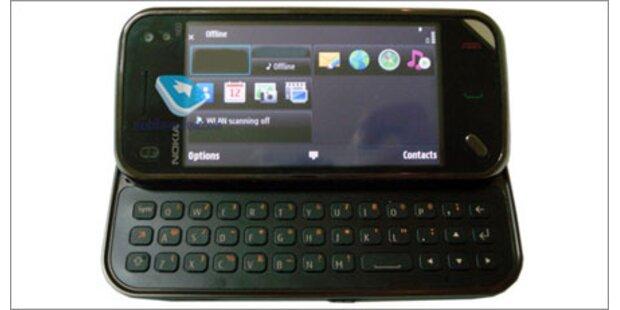 So sieht das kleine Nokia N97 aus