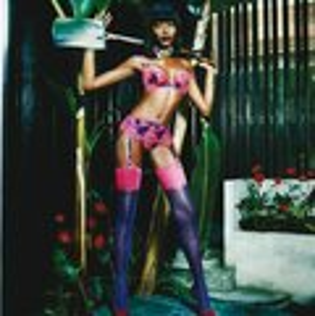 Naomi Campbell für Agent Provocateur