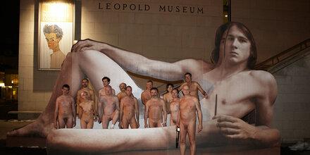 Nackte stürmen Leopold Museum