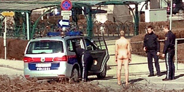 Nackter Mann sorgt für Polizeieinsatz