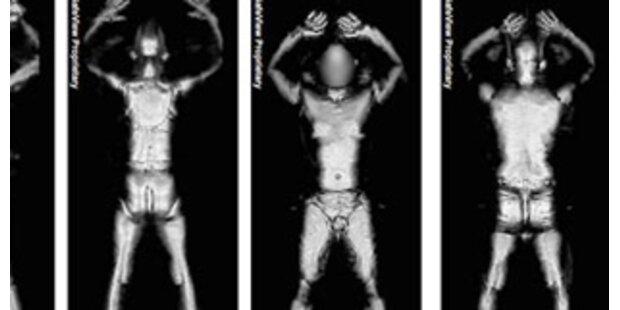 Nackt-Scanner gegen Flug-Terror