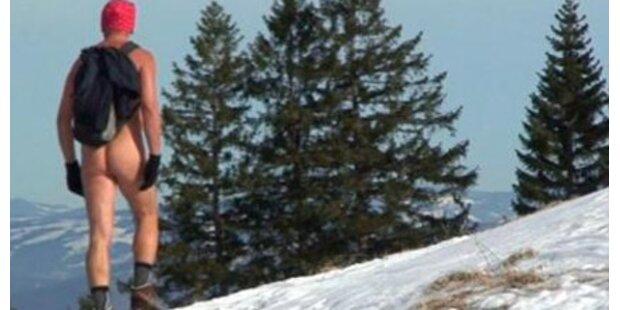 Nacktwandern in Schweizer Bergen verboten