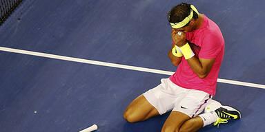 Nadal mit Mühe in Runde 3