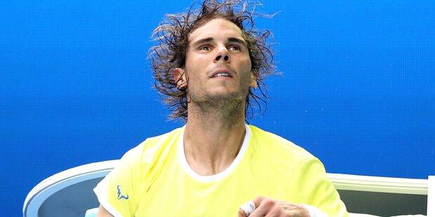 Sensation: Nadal schon draußen