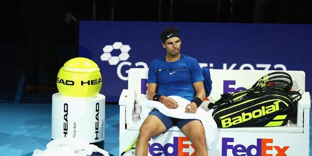 Nadal verliert und beendet Saison