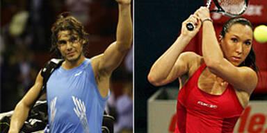 Nadal, Jankovic beenden Jahr als Nr. 1