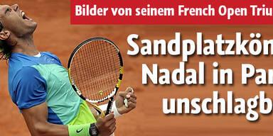 Fünfter French-Open-Triumph für Nadal