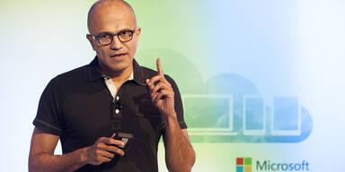 Microsoft-Chef ordnet Führungsteam neu