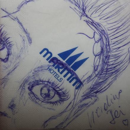Nadine Zeichnung