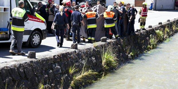 Sturz in Nafla-Bach: Dreijähriger tot