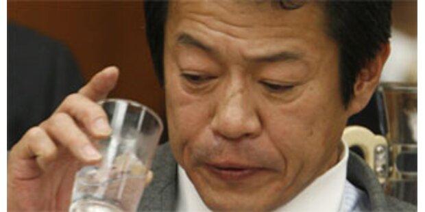 Japans betrunkener Finanzminister tritt zurück
