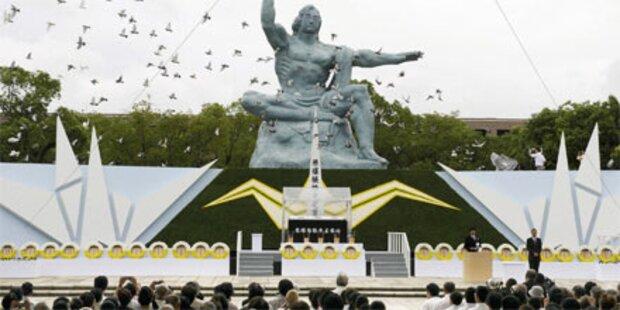 Nagasaki gedenkt Atombombenopfer
