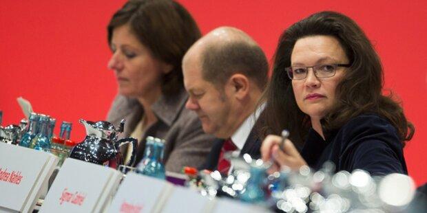 SPD-Parteitag straft Nahles und Scholz ab