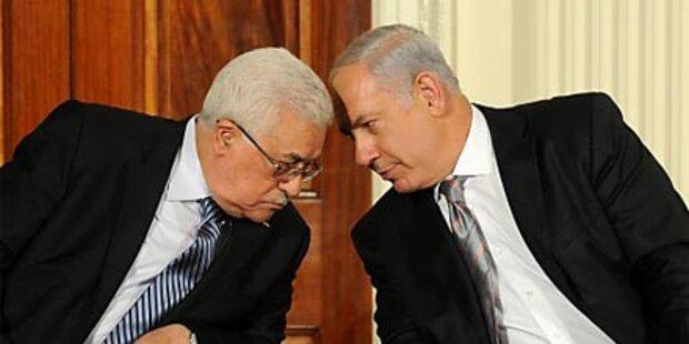 Nahost-Gespräche in Washington begonnen